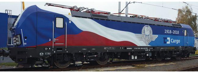 Roco 79946 E-Lok BR 383 Sonderlackierung CD Cargo   AC Sound   Spur H0