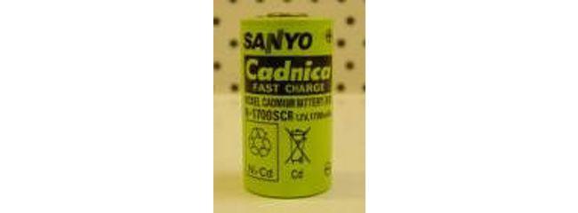 105493 SANYO 1,2V/N1700 SCR Nicd Einzelzelle