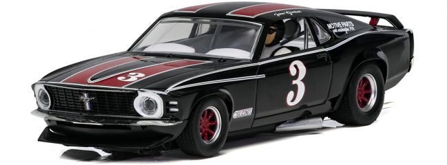 SCALEXTRIC C4014 Ford Mustang 1972   John Gimbel No.3   Slot Car 1:32