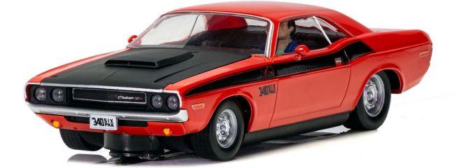 SCALEXTRIC C4065 Dodge Challenger T/A Rot/Schwarz   Slot Car 1:32