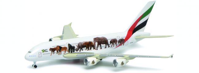 Schuco 403551688 Emirates A380-800 Wild Life | Flugzeugmodell 1:600