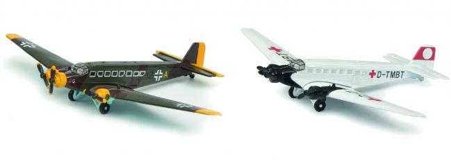 Schuco 403551698 Junkers Ju52 Set Luftwaffe   Flugzeugmodelle 1:250