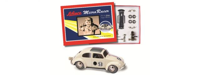 Schuco 450177300 Micro Racer VW Käfer #53   Automobil Bausatz