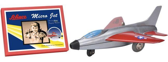 Schuco 450178200 Micro Jet Super Sabre F100 Montagekasten | Flugzeugmodell
