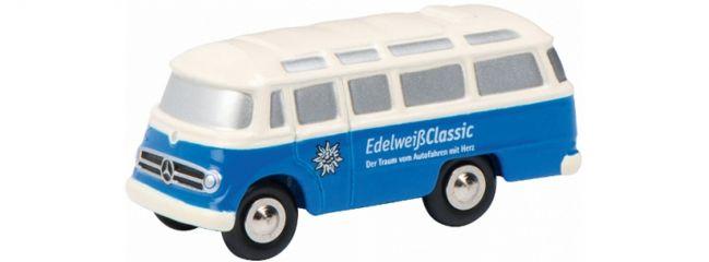 Schuco 450574400 MB O319 Bus Edelweiss | Piccolo Bus-Modell 1:90