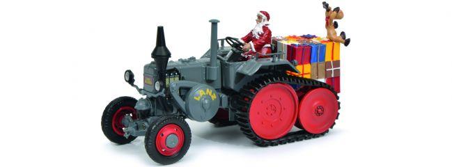Schuco 450770300 Lanz mit Anbauraupe Weihnachtszeit | Weihnachtsmodell 1:32