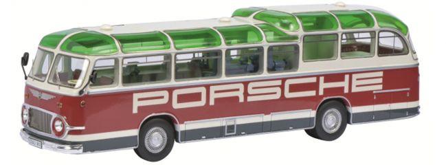 Schuco 450896600 Auwärter Neoplan FH11 Porsche Renndienst   Auto-Miniatur 1:43