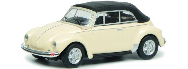 Schuco 452633500 VW Käfer Cabriolet weiss | Automodell 1:87