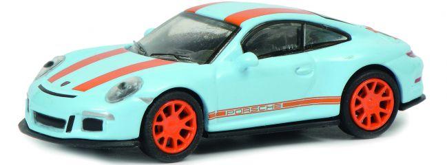 Schuco 452637500 Porsche 911 R blau orange   Automodell 1:87