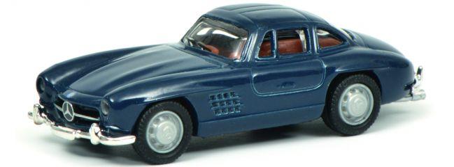 Schuco 452637800 MB 300 SL blau | Automodell 1:87