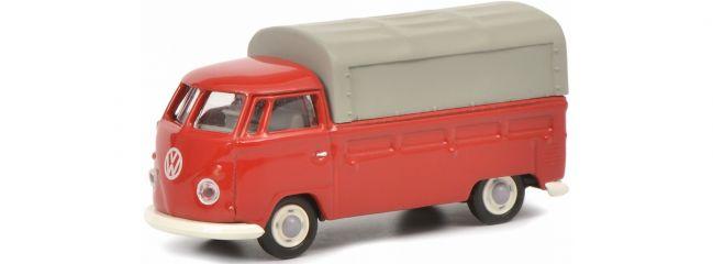 Schuco 452644300 VW T1 Pritsche-Plane rot | Modellauto 1:87