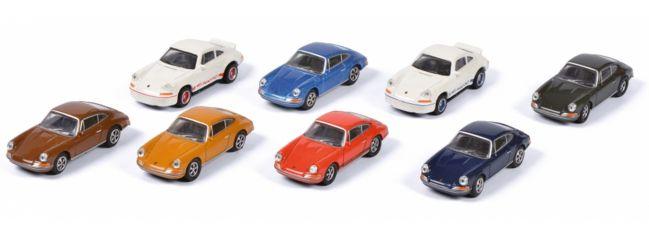 Schuco 452650200 Porsche 911 Set | 8 Stück | Automodelle 1:87