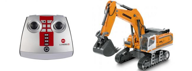 SIKU 6740 Liebherr R980 SME Raupenbagger | 2.4GHz | RC Baumaschine 1:32