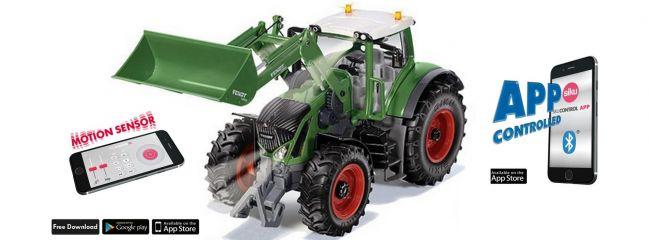 Siku 6793 Fendt 933 mit Frontlader und Bluetooth Schnittstelle | 1:32 | RC Traktor