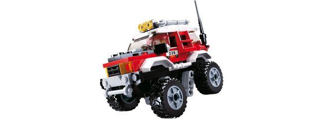 Sluban M38-B0663B Offroad-Fahrzeug rot | Auto Baukasten
