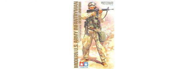 TAMIYA 36308 Modern U.S. Army Infantryman Desert Uniform Militär Bausatz 1:16