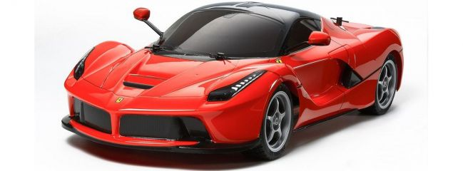 TAMIYA 58582 Ferrari LaFerrari TT-02 Chassis RC Auto Bausatz 1:10