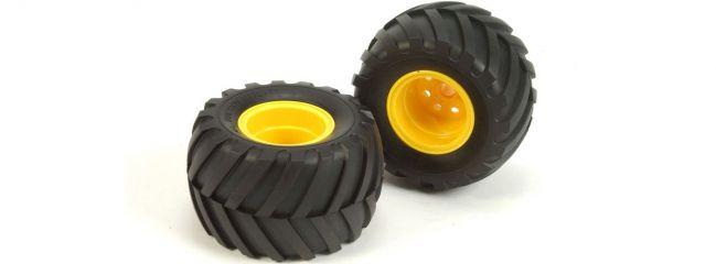 TAMIYA 9805562 OffRoad | Reifen und Felgen | 2WD vorne | MAD BULL | 2 Stück