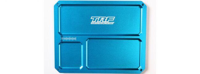 TAMIYA 42292 TRF Alu Kleinteileschale 110x140mm | RC Auto Zubehör