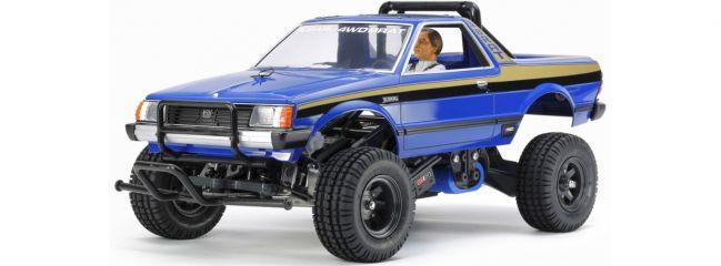 TAMIYA 47413 Subaru Brat Blue Version 2WD PickUp | RC Auto Bausatz 1:10