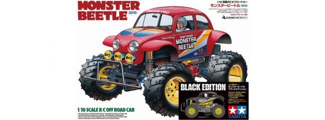 TAMIYA 47419 Monster Beetle Black Edition | RC Auto Bausatz 1:10