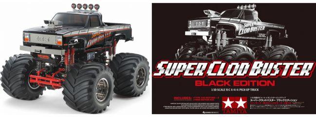 TAMIYA 47432 Super Clod Buster Black Edition | RC Auto Bausatz 1:10
