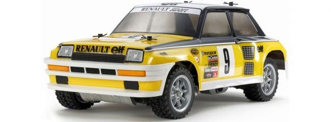 TAMIYA 47435 Renault 5 Turbo Rallye M-05Ra   RC Auto Bausatz 1:12