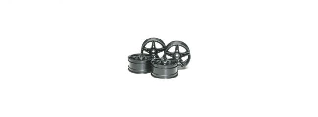 TAMIYA 51263 Felgen Ferrari FXX | schwarz | 26 mm | 4 Stück