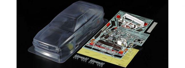 TAMIYA 51615 unlackierte Karosserie Audi Quattro Rallye A2 | für RC Tourenwagen 1:10