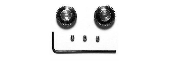 TAMIYA 53406 Motorritzel mit 36, 37 Zähne Modul 0,4