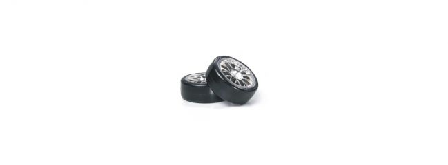 TAMIYA 54021 Mesh Felgen mit Reifen (2x)