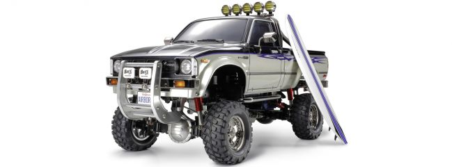 TAMIYA 58397 Toyota Hilux High Lift 4x4 3-Gang Bausatz