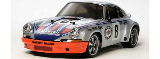 TAMIYA 58571 Porsche 911 Carrera RSR TT-02 Chassis RC Auto Bausatz 1:10