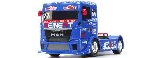 TAMIYA 58642 MAN TGS Racing Truck Team Reinert TT-01E | RC Auto Bausatz 1:14