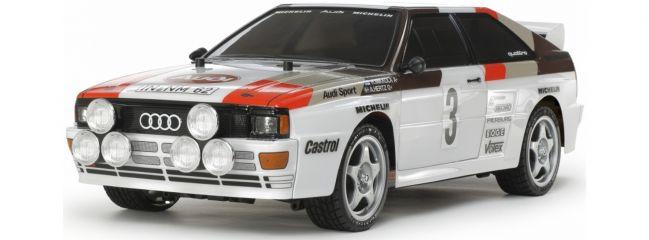 TAMIYA 58667 Audi Quattro Rally A2 TT-02 | RC Auto Bausatz 1:10