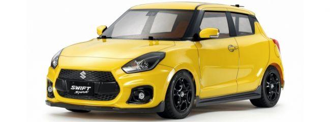 TAMIYA 58679 Suzuki Swift Sport gelb M-05 | RC Auto Bausatz 1:10
