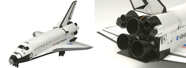 TAMIYA 60402 Atlantis Space Shuttle Bausatz 1:100
