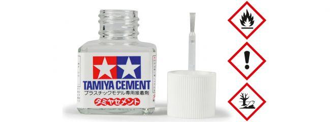 TAMIYA 87003 Cement/Plastikkleber mit Pinsel | 40 ml