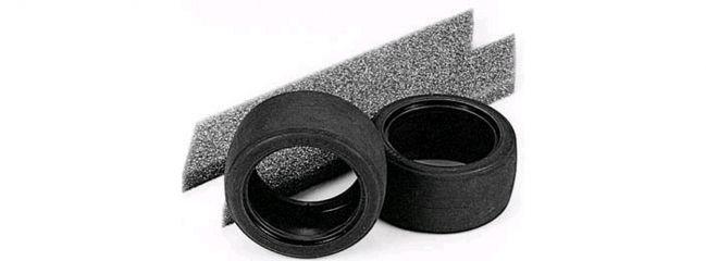 TAMIYA 50547 Reifen Slicks mit Schaumstoffeinlagen | 30 mm | 2 Stück | für TW 1:10