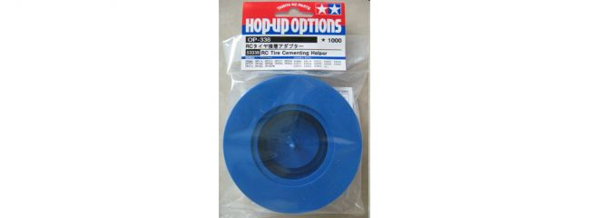 TAMIYA 53338 Reifenklebervorrichtung in der Farbe blau