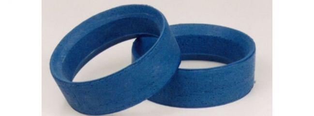 TAMIYA 53434 Reifeneinlagen | blau | soft | 24 mm | 2 Stück