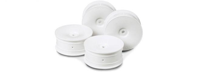 TAMIYA 53475 Dish- Felgen weiss | 24 mm | Offset 0 | 4 Stück