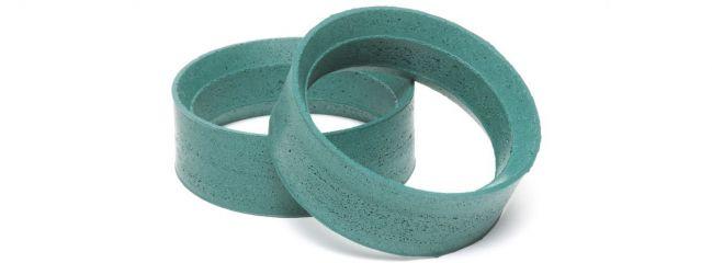 TAMIYA 53582 Reifeneinlagen | grün medium | 24 mm | 2 Stück