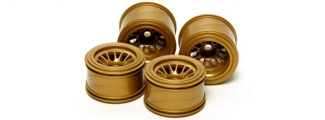 TAMIYA 54527 F104, TRF101 Felgenset gold für Hohlkammerreifen