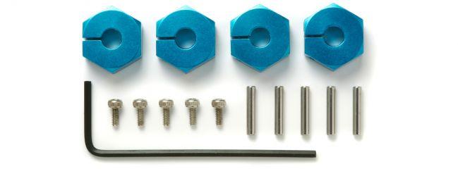 TAMIYA 53823 Radmitnehmer 5mm stark blau eloxiert