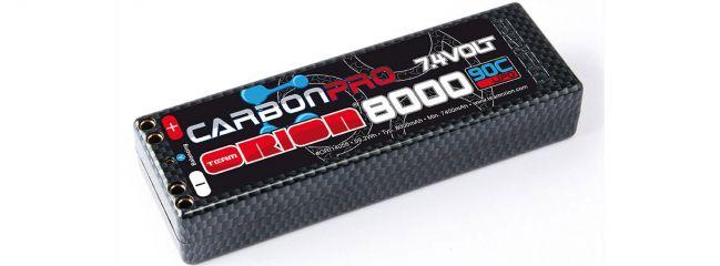 Team Orion ORI14056 Carbon Pro 8000 90C 7,4V 2S (Doppelbuchse)