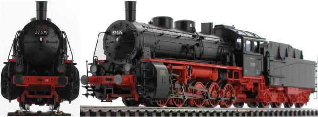 TRIX 22057 Güterzug-Dampflok BR 57.5 DB | DCC-Sound mfx | Spur H0