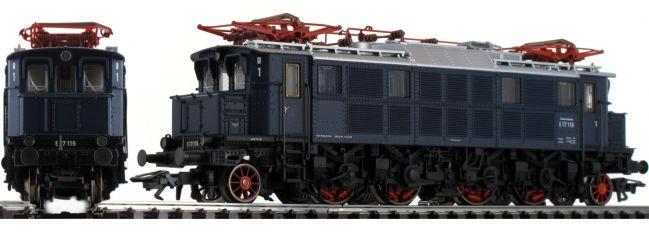 TRIX 22496 E-Lok BR E17 stahlblau DB | Messelok 2019 | mfx/DCC Sound | H0