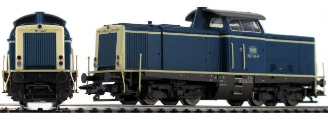 TRIX 22827 Diesellok BR 212 DB | mfx/DCC Sound | Spur H0