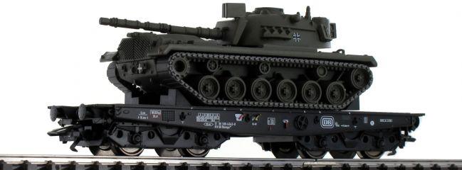 TRIX 24214 Schwerlastwagen Rlmmps mit M48 DB | Spur H0